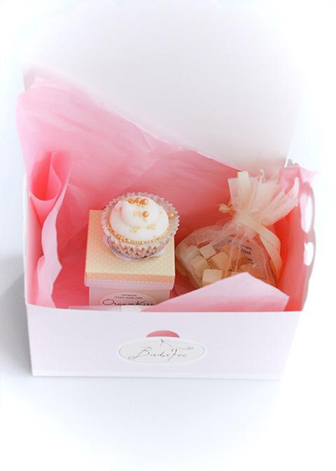 gift set - gold orange kiss