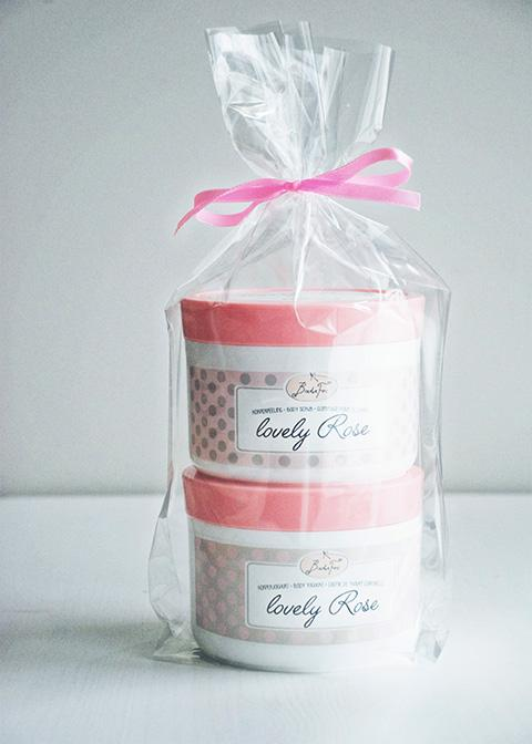 gift set - lovely rose