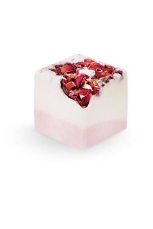 bath additive - sensual rose cube