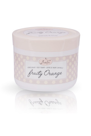 body yoghurt - fruity orange