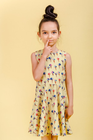 stracciatella dress kids