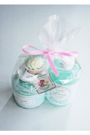 gift set - blue bubble fairy