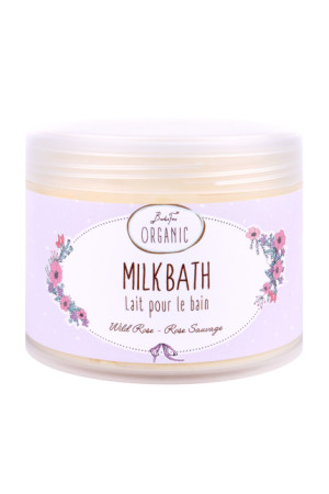 bath milk wild rose