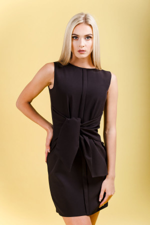 ultimate tie front mini dress sleeveless